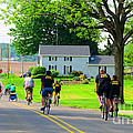 Saturday Bike Ride by Tina M Wenger