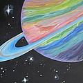 Saturn by Evie Giaconia