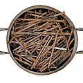 Strong Bouillon - Saucepan Full Of Rusty Nails by Michal Boubin
