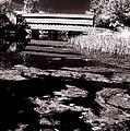 Saucks Bridge Down Stream by Paul W Faust -  Impressions of Light