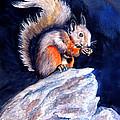 Saucy Squirrel by Ruth Bodycott