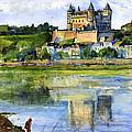 Saumur Chateau France by John D Benson