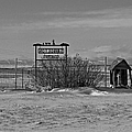 Savageton Cemetery  Wyoming by Cathy Anderson