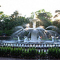 Savannah Georgia Forsyth Park Fountain by JG Thompson