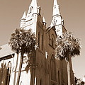 Savannah Sepia - Methodist Church by Carol Groenen