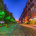 Savannah River Street - Savannah, Georgia by Lance Raab