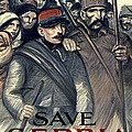 Save Serbia Our Ally by Theophile Alexandre Steinlen