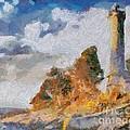 Savudrija Lighthouse by Dragica  Micki Fortuna