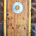 Sawmill Door by Holly Blunkall