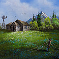 Sawtooth Mountain Homestead by Chris Steele