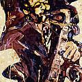 Sax Man One by Faye Cummings