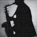 Sax On The Bricks by Terry Fiala