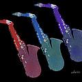 Saxophone 55k by Susan Davis