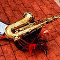 Saxophone Before The Parade by Susan Savad