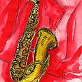 Saxophone by Gitta Brewster