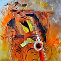 Saxplayer 88 by Pol Ledent