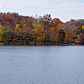 Scales Lake In Autumn by Sandy Keeton