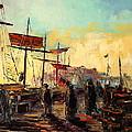 Scarborough Harbour Loading by Luke Karcz