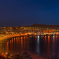 Scarborough Night Lights At Sunrise by Dennis Dame