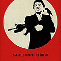 Scarface Poster by Naxart Studio