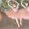 Scene De Ballet by Edgar Degas