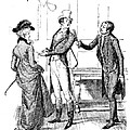 Scene From Pride And Prejudice By Jane Austen by Hugh Thomson