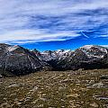 Scene From The Rocky Mountains National Park  by Rendell B