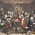 Scene In A Gaming House, Plate Vi by William Hogarth