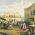 Scene In Bombay, From Volume I by Captain Robert M. Grindlay