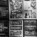 Scenes Of New York In Black And White by Rob Hans
