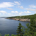 Scenic Acadia Park View by Christiane Schulze Art And Photography