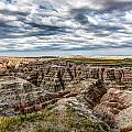 Scenic Badlands by Bill Lindsay