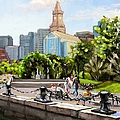 Scenic Boston by Laura Lee Zanghetti