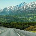 Scenic Drive On The Glenn Highway by Dyle   Warren