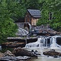 Scenic Grist Mill by Vicky Path