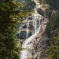 Scenic Of Shannon Fallsbritish Columbia by Robert Postma