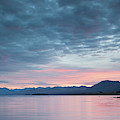 Scenic View Of Lake At Dusk, Lake by Panoramic Images