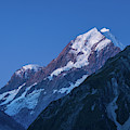 Scenic View Of Mountain At Dusk by Panoramic Images