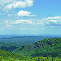Scenic View Of Mountain Range, Blue by Panoramic Images