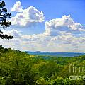 Scenic View Of So Mo Ozarks - Digital Paint by Debbie Portwood