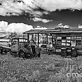 Schellbourne Station And Old Truck by Robert Bales