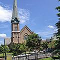 Schenectady Steeple by Eric Swan