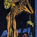 Schlemihls In The Loneliness Of The Room by Ernst Ludwig Kirchner