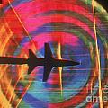 Schlieren Image Of Aircraft by Garry Settles