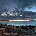 Schoodic Point Sunrise 7218 by Brent L Ander