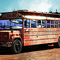 School Bus 5d24927 by Wingsdomain Art and Photography