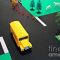 School Bus School by Olivier Le Queinec