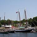 Schooner - Camden Harbor - Maine by Christiane Schulze Art And Photography
