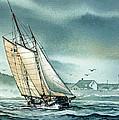 Schooner Voyager by James Williamson