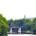 Schuylkill River At Manayunk Philadelphia by Bill Cannon